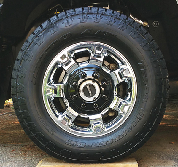 Ford Quot Chrome Clad Quot Aluminum Wheels Ford Truck